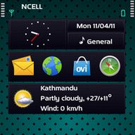Dots Aqua - dhanusaud theme screenshot