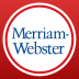 Dictionary – Merriam-Webster icon