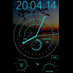 Modern Clock XX