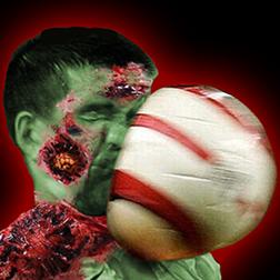 Halloween Zombie Farting Football