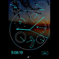 Modern Clock XXIV